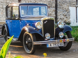 Austin Cambridge A10, Royal Blue, Model 1934